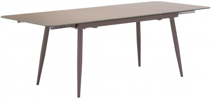 Mercier Mocha Extendable Rectangular Dining Table