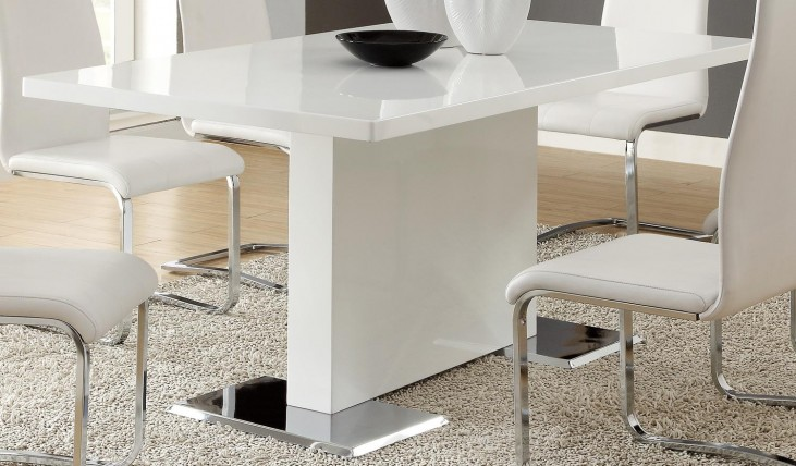 Mix & Match White Table 102310