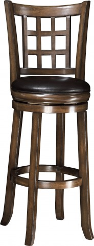 "102640 Oak 29""H Swivel Bar Stool"