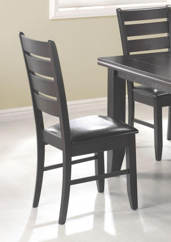 Page Dark Brown Side Chair Set of 2