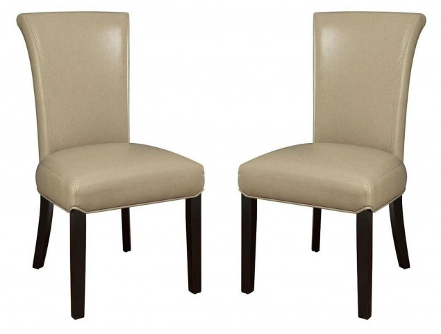 Newbridge Taupe Chair Set of 2