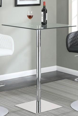 Chrome Bar Table