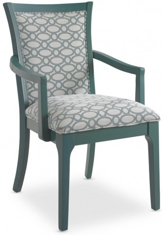 Open Seating Teal Karolina Arm Chair