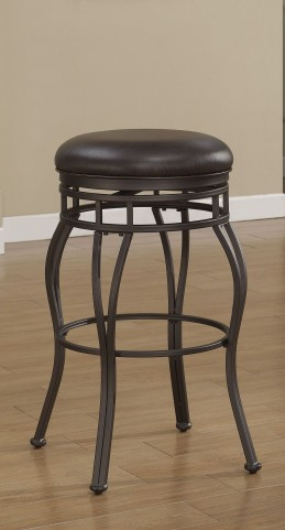 B1-102-34L Metal Frame Backless Bar Stool