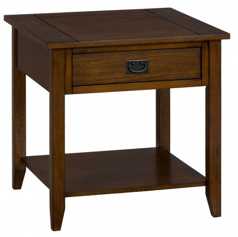 Mission Oak End Table