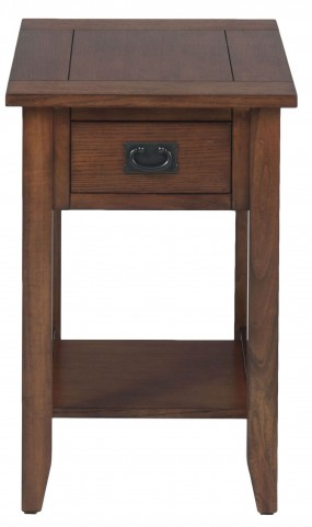 Mission Oak Chairside Table