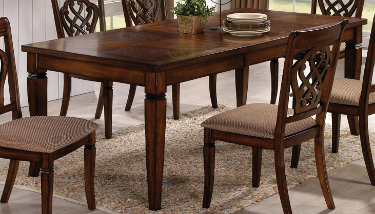 Oak Rectangular Dining Table 103391