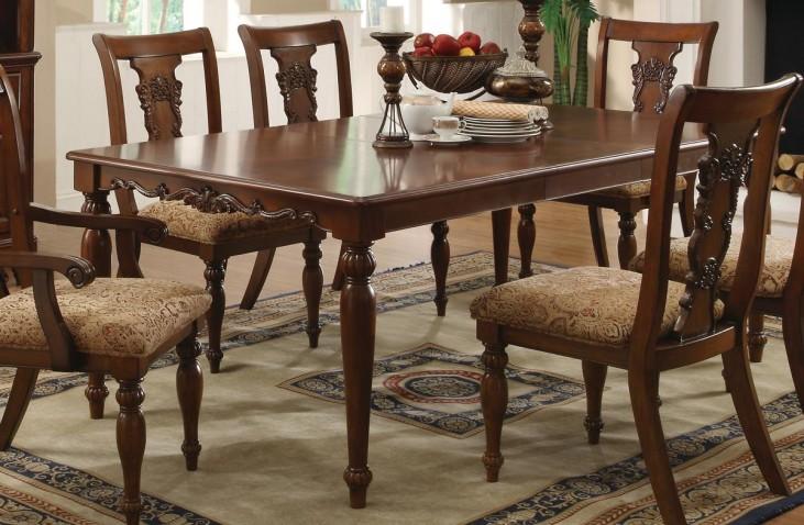 Addison Cherry Rectangular Dining Table