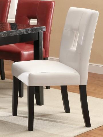 Newbridge White Dining Chair 103612WHT Set of 2