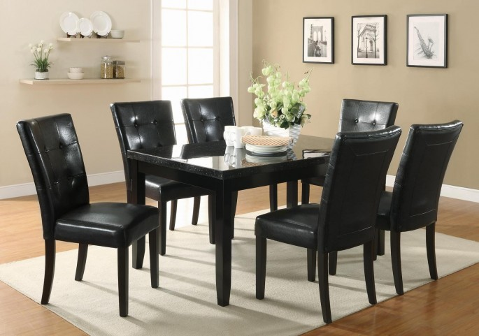 Newbridge Cappuccino Rectangular Dining Room Set