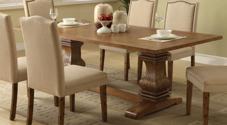 Parkins Cappuccino Rectangular Dining Table