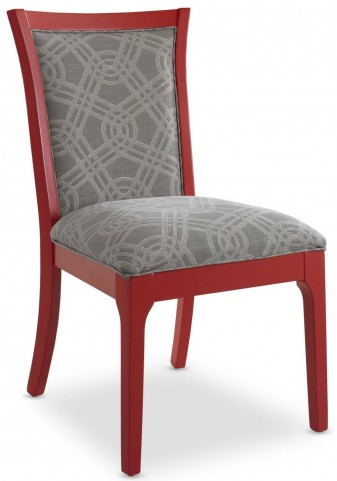 Open Seating Red Claudia Side Chair