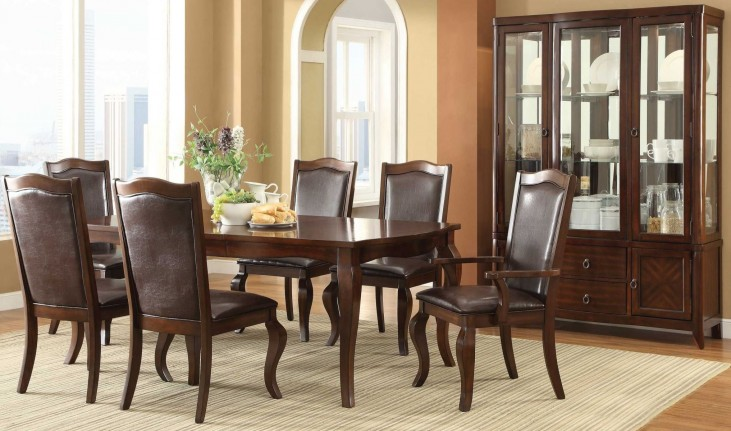 Louanna Rectangular Extendable Dining Room Set