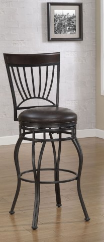 B1-104-26L Back-Metal Frame Bar Stool