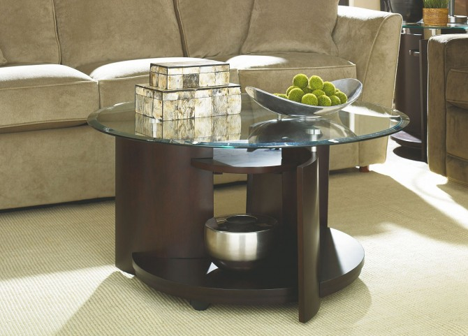 Apex Round Occasional Table Set