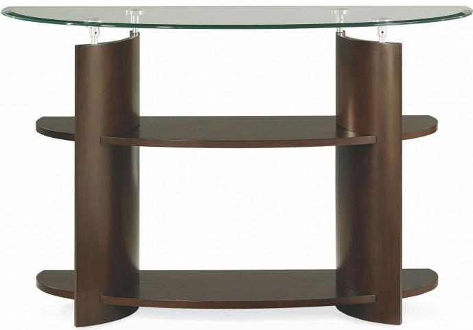 Apex Dark Umber Brown Sofa Table