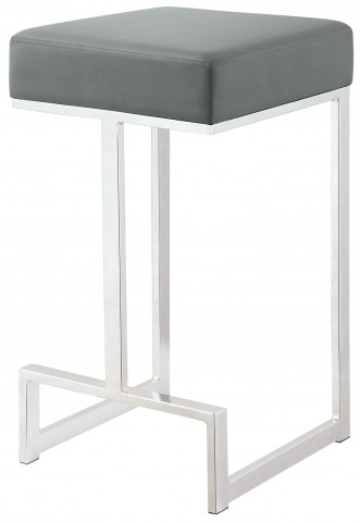 "Gray 24"" Bar Stool"