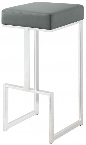 "Gray 29"" Bar Stool"