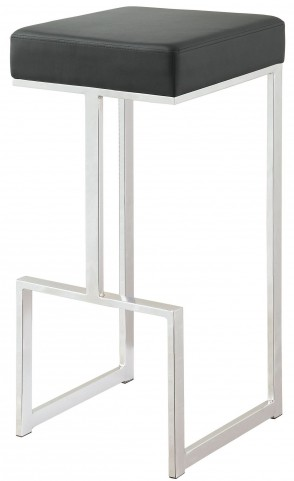 "Black 29"" Bar Stool"