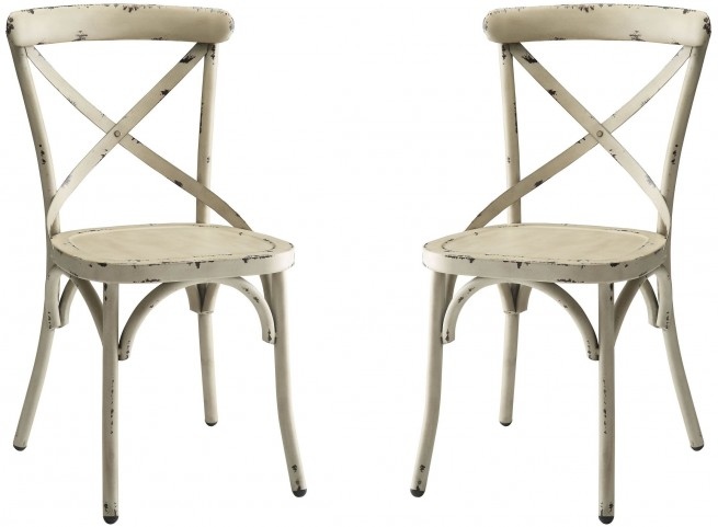 Nagel White Side Chair Set of 2