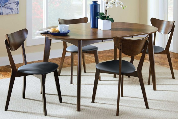 Malone Round Extendable Dining Room Set