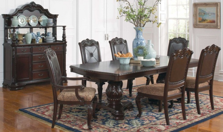 Valentina Rectangular Extendable Dining Room Set