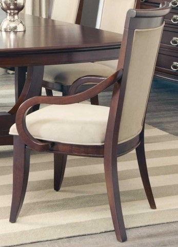 Alyssa Upholstered Arm Chair Set of 2