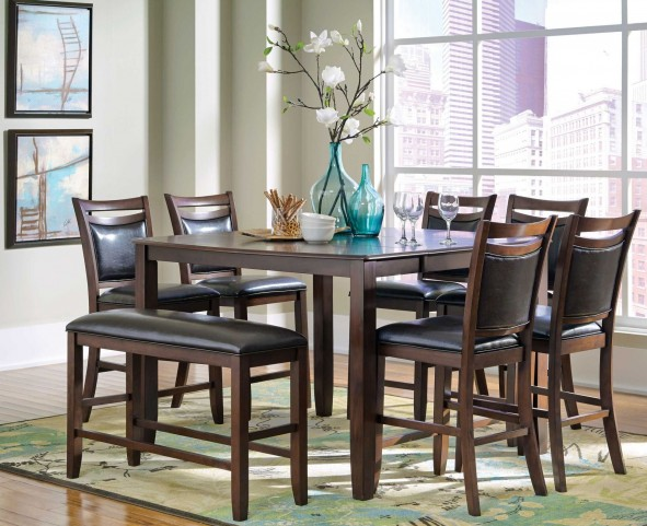 Dupree Extendable Square Counter Height Dining Set