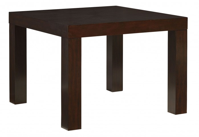 "Couture Elegance Dark Chocolate Brown 42"" Square Dining Table"