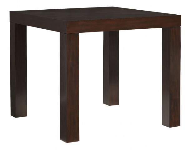 "Couture Elegance Dark Chocolate Brown 42"" Square Counter Height Dining Table"