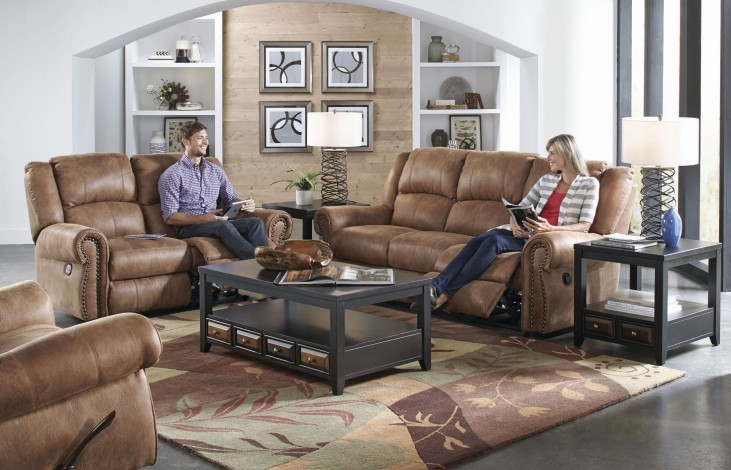 Westin Nutmeg Reclining Living Room Set