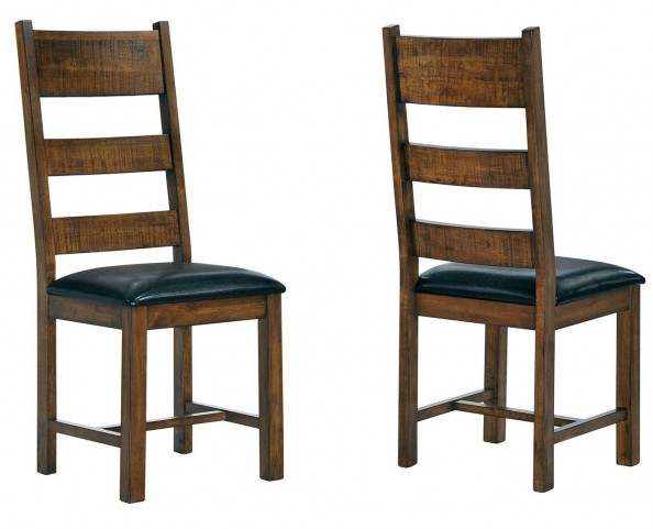 Murillo Rustic Honey Side Chair Set of 2