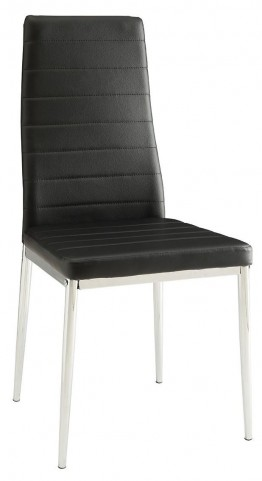 Black Dining Chair Set of 4