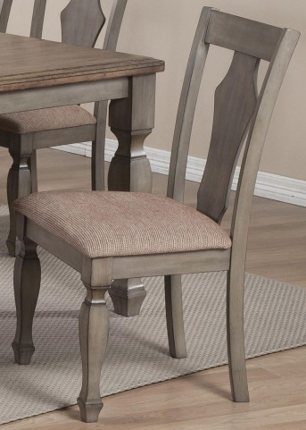 Riverbend Warm Brown Dining Chair Set of 2