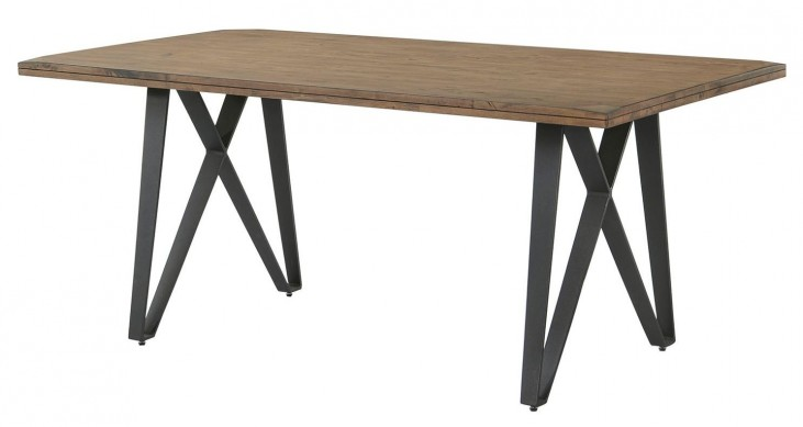 Ferguson Rustic Taupe Rectangular Dining Table