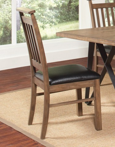Ferguson Rustic Taupe Dining Chair Set of 2
