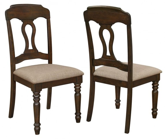 Hamilton Antique Tobacco Dining Chair Set of 2