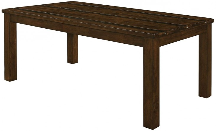 Wiltshire Rustic Pecan Dining Table