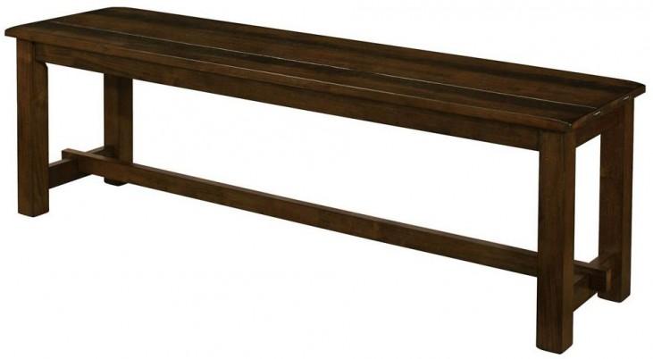Wiltshire Rustic Pecan Bench