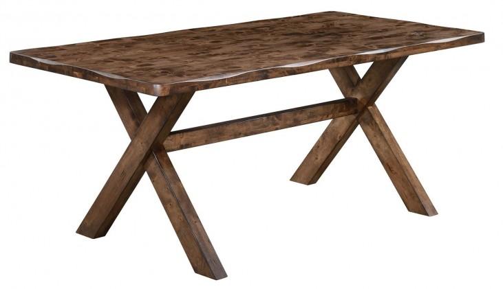 Alston Knotty Nutmeg Rectangular Dining Table