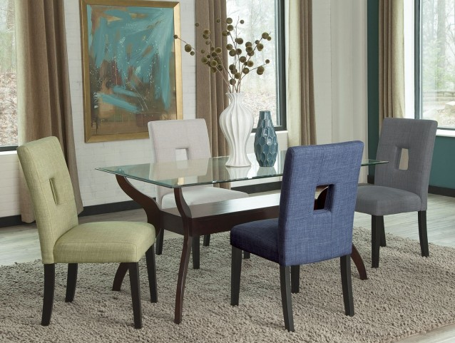 Andenne Cappuccino Dining Room Set