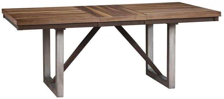 Spring Creek Brown Espresso Extendable Dining Table