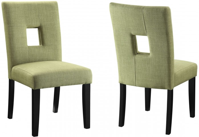 Andenne Green Dining Chair Set of 2