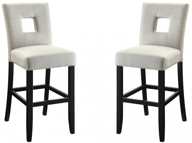 Andenne Cream Counter Height Chair Set of 2