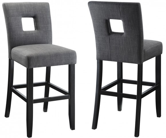 Andenne Gray Counter Height Chair Set of 2