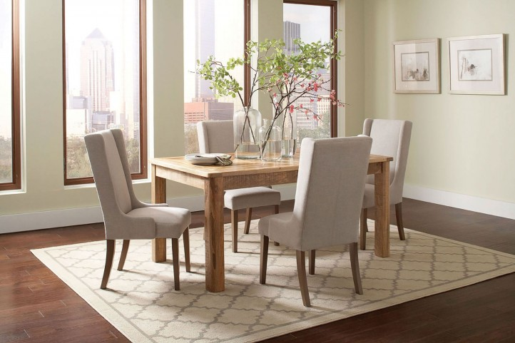 Solomon Natural Mango Dining Room Set