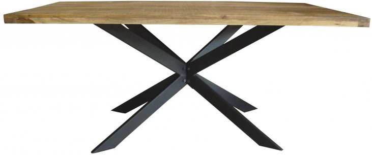 Galloway Rustic Natural Dining Table