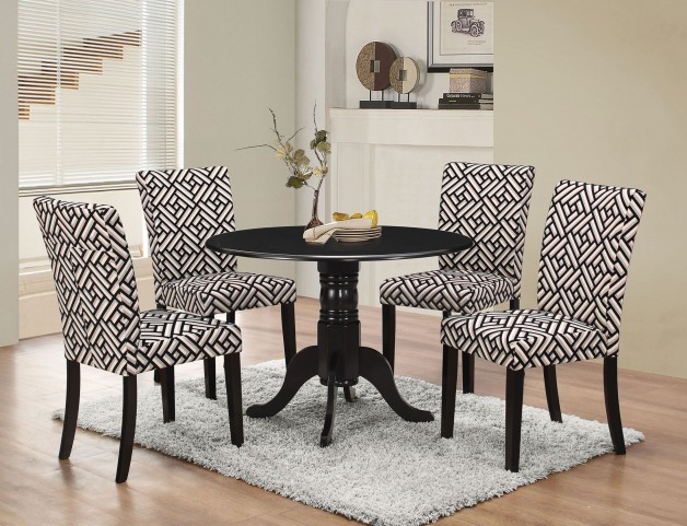 Dorsett Black Dining Room Set