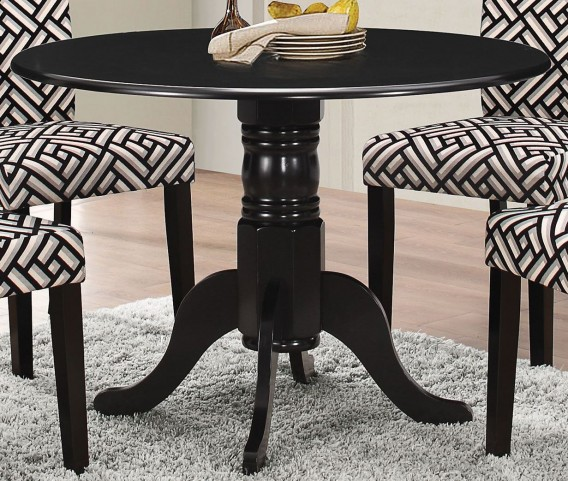 Dorsett Black Dining Table
