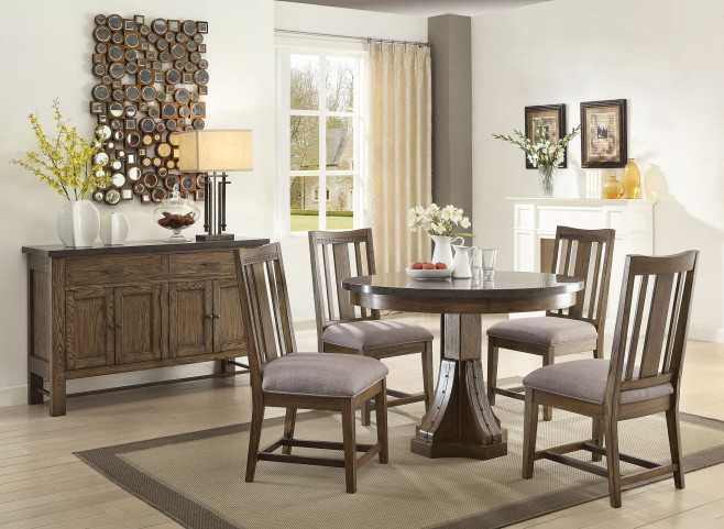 Willowbrook Rustic Ash Dining Room Set
